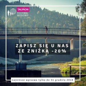 Festiwal Biegowy w Krynicy - Tańsze zapisy