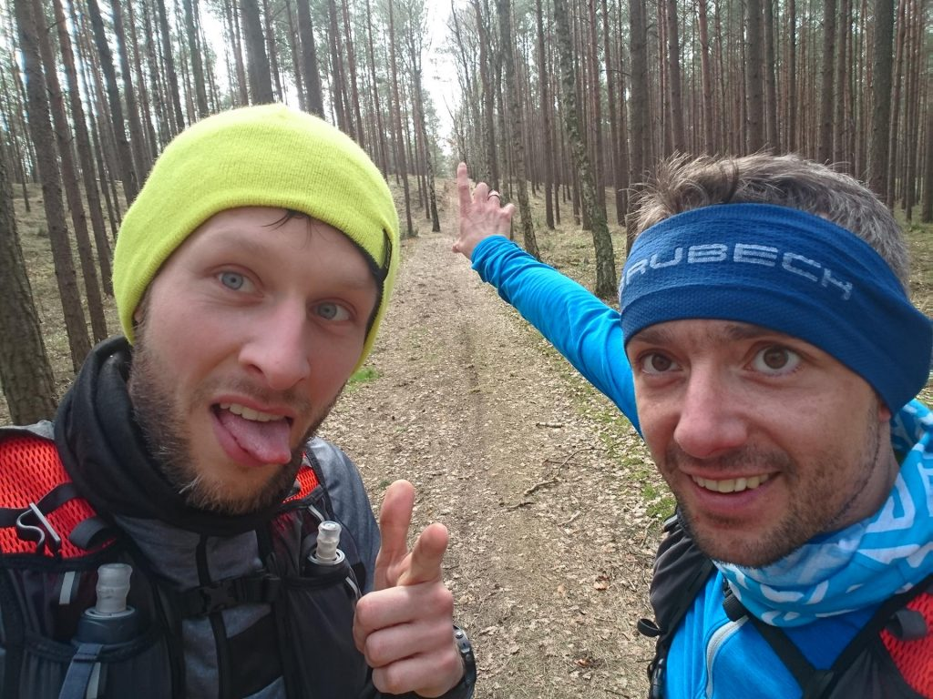 maraton na treningu - próba przed biegiem rzeźnika