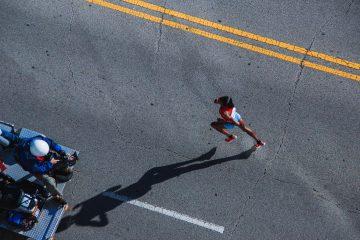maraton na treningu
